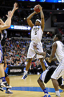 Panthers' Gilbert Brown pulls up for jumper. Pittsburgh defeated UNC-Charlotte 74-51 during the NCAA tournament at the Verizon Center in Washington, D.C. on Thursday, March 17, 2011. Alan P. Santos/DC Sports Box