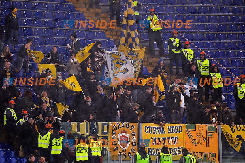 Tifosi Parma,Supporters<br /> Roma 02-01-2014 Stadio Olimpico - Football Calcio Serie A 2013/2014 AS Roma - Parma Foto Andrea Staccioli / Insidefoto