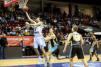 GRONINGEN - Basketbal, Donar - Den Helder Suns, Martiniplaza, Dutch Basketbal League,  seizoen 2018-2019, 27-11-2018,  Donar speler Drago Pasalic op weg naar fraaie score