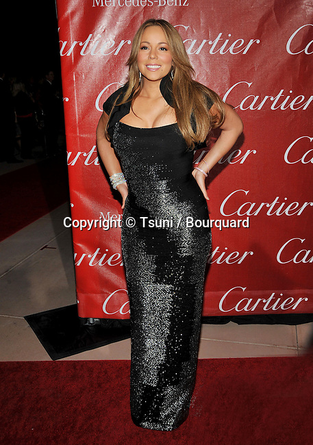 Mariah Carey _09  -<br /> 2010 Palm Springs International Film Festival at the  Palm Springs Convention Center.