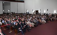 SAO PAULO, SP - 10.03.2017 - CRIAN&Ccedil;A FELIZ - O Governador do estado de S&atilde;o Paulo, Geraldo Alckmin e a Presidente do Fundo Social de Solidariedade, Lu Alckmin, recebem o Ministro do Desenvolvimento Solcia e Agrario, Osmar Terra no pal&aacute;cido dos Bandeirantes na tarde desta sexta-feira (10) na capital paulista. O governador recebeu convidados durante o lan&ccedil;amento do programa Crian&ccedil;a Feliz no estado.<br /> (Foto: Fabricio Bomjardim / Brazil Photo Press)