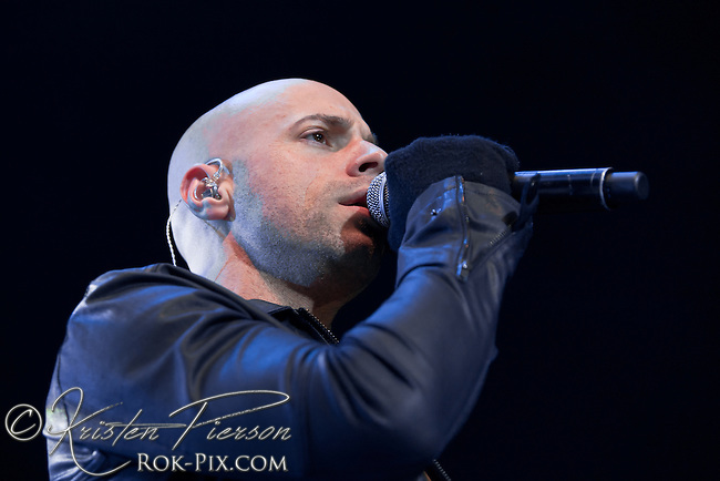 Daughtry perform at Mohegan Sun Arena, Uncasville, Connecticut, February 17, 2013