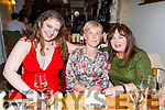 Ellie Horgan from Tralee celebrating her birthday in Bella Bia on Saturday<br /> Seated l to r: Ellie Horgan, Eileen O'Connor and Majella Horgan.