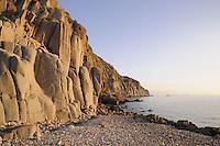 - Capraia island (Tuscan Archipelago), rock in the bay of the port<br /> <br /> - isola di Capraia (Arcipelago Toscano), scogliera nella baia del porto