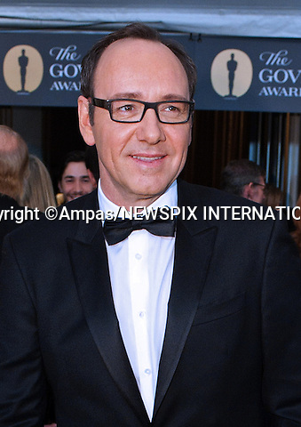 "KEVIN SPACEY.2010 Governors Awards,Grand Ballroom at Hollywood & Highland,Hollywood, Los Angeles_14/11/2010.Mandatory Photo Credit: ©Petit/Newspix International..**ALL FEES PAYABLE TO: ""NEWSPIX INTERNATIONAL""**..PHOTO CREDIT MANDATORY!!: NEWSPIX INTERNATIONAL(Failure to credit will incur a surcharge of 100% of reproduction fees)..IMMEDIATE CONFIRMATION OF USAGE REQUIRED:.Newspix International, 31 Chinnery Hill, Bishop's Stortford, ENGLAND CM23 3PS.Tel:+441279 324672  ; Fax: +441279656877.Mobile:  0777568 1153.e-mail: info@newspixinternational.co.uk"