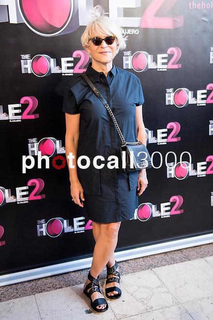 Teatro La Latina. Madrid. Spain. 13/05/2014.<br /> Press pass The Hole 2.<br /> Antonia San Juan.