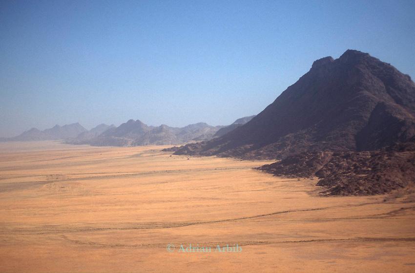 Barren desert, Northern Namibia.
