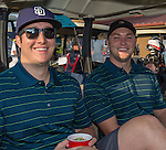 Rob Valerius and Erick Edgington at  the Microsoft 8th Annual Charity Golf Tournament held at Red Hawk Golf and Resort in Sparks on Friday, August 19, 2016.