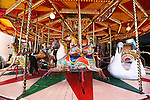 The Carousel in Sydney's  Luna Park.  Sydney, Australia. Wednesday 6th June 2012. (Photo Steve Christo)
