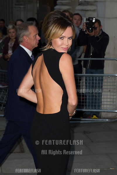 Amanda Holden arriving for the 2013 Pride of Britain Awards, at the Grosvenor House Hotel, London. 07/10/2013 Picture by: Dave Norton / Featureflash