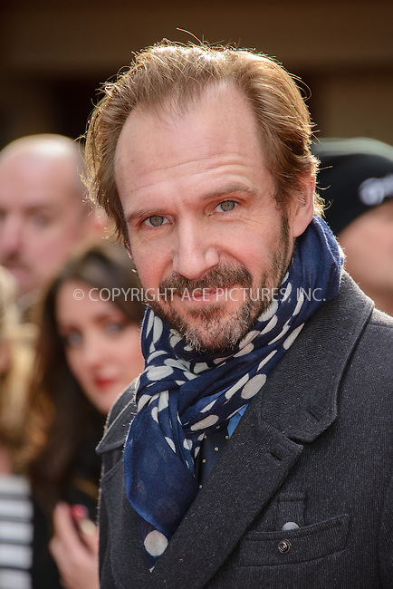 WWW.ACEPIXS.COM<br /> <br /> March 29 2015, London<br /> <br /> Ralph Fiennes arriving at the Jameson Empire Awards at the Grosvenor Hotel on March 29 2015 in London.<br /> <br /> By Line: Famous/ACE Pictures<br /> <br /> <br /> ACE Pictures, Inc.<br /> tel: 646 769 0430<br /> Email: info@acepixs.com<br /> www.acepixs.com