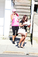 J WoWW and Deena pictured during filming of The Jersey Shore Show season six in Seaside Heights, New Jersey on June 25, 2012  © Star Shooter / MediaPunchInc *NORTEPHOTO* **SOLO*VENTA*EN*MEXICO** **CREDITO*OBLIGATORIO** **No*Venta*A*Terceros** **No*Sale*So*third** *** No*Se*Permite Hacer Archivo** **No*Sale*So*third** *Para*más*información:*email*NortePhoto@gmail.com*web*NortePhoto.com*