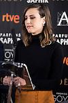 Natalia de Molina during the reading of the nominates for Goya 2017 at Academia de Cine in Madrid, Spain. December 14, 2016. (ALTERPHOTOS/BorjaB.Hojas)