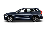 Car driver side profile view of a 2018 Volvo XC60 Momentum 5 Door SUV