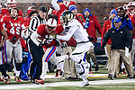 Southern Methodist Mustangs wide receiver Deion Sanders Jr. (2) in action during the game between the South Florida Bulls and the SMU Mustangs at the Gerald J. Ford Stadium in Fort Worth, Texas. SMU leads USF 13 to 0 at halftime.