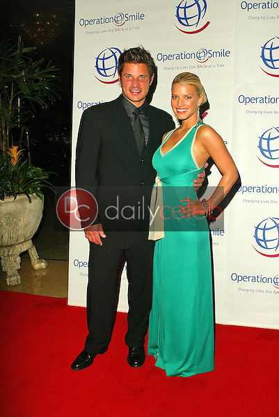 Nick Lachey and Jessica Simpson