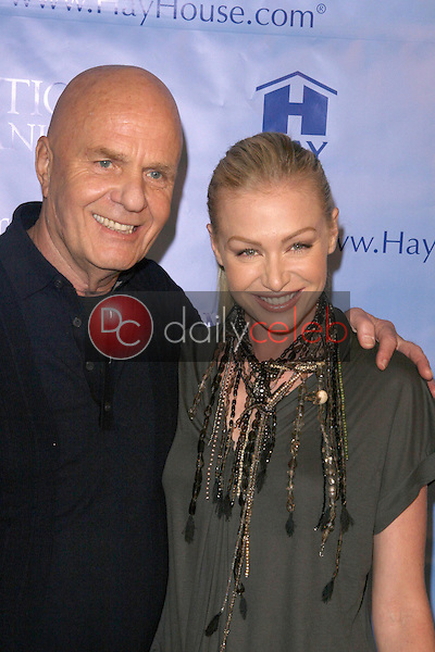 Wayne Dyer and Portia De Rossi<br />at the Los Angeles Premiere of 'Ambition to Meaning, Finding Your Life's Purpose'. Egyptian Theatre, Hollywood, CA. 01-08-09<br />Dave Edwards/DailyCeleb.com 818-249-4998