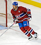 16 January 2007: Montreal Canadiens defenseman Sheldon Souray (44) in action against the Vancouver Canucks at the Bell Centre in Montreal, Canada. The Canucks defeated the Canadiens 4-0.Mandatory Credit: Ed Wolfstein Photo *** Editorial Sales through Icon Sports Media *** www.iconsportsmedia.com