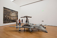 The Hamburger Bahnhof Museum of Contemporary Art opened in 1997 in a former Berlin railway station. Work in this room is by German artist Anselm Kiefer.