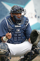 July 6 2009: Israel Nunez of the Everett AquaSox before game against the Yakima Bears at Everett Memorial Stadium in Everett,WA.  Photo by Larry Goren/Four Seam Images