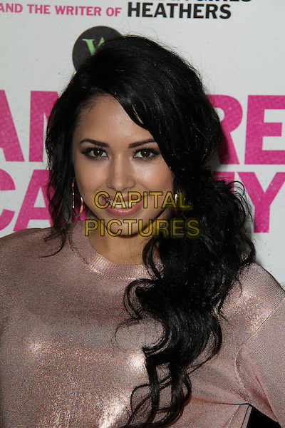 LOS ANGELES, CA - February 04: Jasmine Villegas at the &quot;Vampire Academy&quot; Los Angeles Premiere, Regal Cinemas, Los Angeles,  February 04, 2014. <br /> CAP/MPI/JO<br /> &copy;JO/MPI/Capital Pictures
