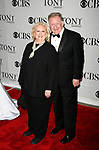Barbara Cook & Harvey Evans arriving to the 61st Annual Tony Awards held at Radio City Music Hall New York City on June 10, 2007.