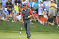 Rory MCILROY (NIR) on the 7th green during Thursday's Round 1 of the 2014 PGA Championship held at the Valhalla Club, Louisville, Kentucky.: Picture Eoin Clarke, www.golffile.ie: 7th August 2014