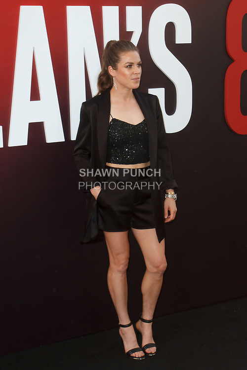 Kelley O'Hara arrives at the World Premiere of Ocean's 8 at Alice Tully Hall in New York City, on June 5, 2018.