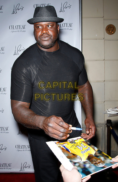 27 June 2015 - Las Vegas, Nevada -  Shaquille O'Neal.  Shaquille O'Neal, aka DJ Diesel, at Chateau Nightclub and Rooftop at Paris Las Vegas.  <br /> CAP/ADM/MJT<br /> &copy; MJT/AdMedia/Capital Pictures