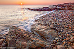 Sunrise at Bass Rocks, Gloucester, Massachusetts, USA