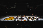 ST PAUL, MN - APRIL 7: The Notre Dame Fighting Irish take on the University of Minnesota Duluth Bulldogs during the Division I Men's Ice Hockey Semifinals held at the Xcel Energy Center on April 7, 2018 in St Paul, Minnesota. (Photo by Carlos Gonzalez/NCAA Photos via Getty Images)