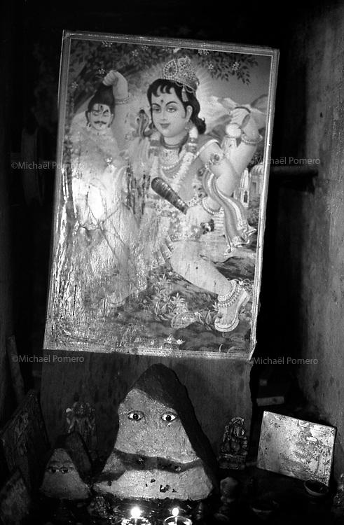 11.2010 Pushkar (Rajasthan)<br /> <br /> Small street temple.<br /> <br /> Petit temple de rue.