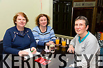 Angela O Donnell, Stephie Enright and Angela Enright enjoying the Mercy Mounthawk Parents Council Table Quiz in the Brogue on Thursday