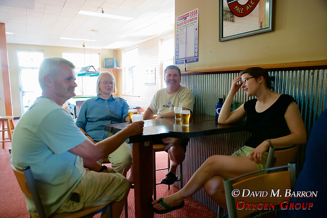 Hugh, Pat, Kevin & Sarah Enjoying The Local Refreshments