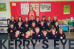 Ms Mary Dillane's junior infants class who started school on Friday at Listellick primary school. Front l-r: Darragh Lyons, Oskar Taraszkievicz, Rhys O'Connor, Milosz Skotak, Barry Laide, Philip McEneaney, Feidhlim Ginty. Middle l-r: Emily Kennelly Byrne, Ciara Locke, Clodagh Cunnane, Megan Gaynor, Emily O'Sullivan, Sophie Culloty, Leah Sutton. Back l-r: Mia Molloy, Sadhbh Sheehan, Emma Vinarcikova, Fionan Collins, Katie Higgins, Ava Kelliher, Wiktoria Modrzewska, Michalina Zalewska