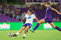 Orlando, FL - Saturday September 02, 2017: Angela Salem during a regular season National Women's Soccer League (NWSL) match between the Orlando Pride and the Boston Breakers at Orlando City Stadium.