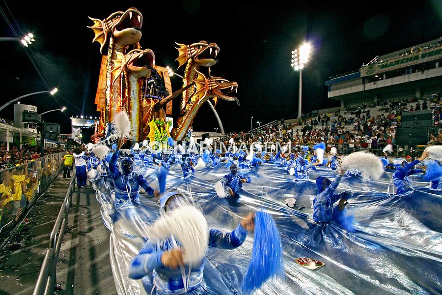 Desfile de carnaval. Unidos de Vila Maria. São Paulo. 2006. Foto de Flávio Bacellar.