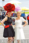 Joann Murphy and Elaine Kelliher from Kilgarvan at the Anthony Ryan Galway Races Ladies Day on Thursday.