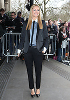 Tess Daly arriving for the TRIC Awards 2014, at Grosvenor House Hotel, London. 11/03/2014 Picture by: Alexandra Glen / Featureflash