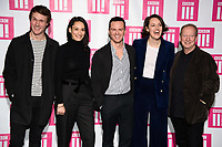 LONDON, UK. January 24, 2019: Hugh Skinner, Sian Clifford, Andrew Scott, Phoebe Waller Bridge &amp; Bill Paterson at the &quot;Fleabag&quot; season 2 screening, at the BFI South Bank, London.<br /> Picture: Steve Vas/Featureflash