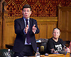 Orgreave campaigners hold Westminster rally before Home Secretary meeting<br /> 13th September 2016, Labour leader Jeremy Corbyn, Shadow Home Secretary Andy Burnham and other MPs join the Orgreave Truth and Justice Campaign <br /> Westminster, London, Great Britain <br /> <br /> <br />  <br /> <br /> followed by an open meeting of campaigners and politicians ahead of a private meeting with Home Secretary Amber Rudd on the campaign&rsquo;s call for a public inquiry. <br /> <br /> Barbara Jackson <br /> <br /> <br /> Photograph by Elliott Franks <br /> Image licensed to Elliott Franks Photography Services