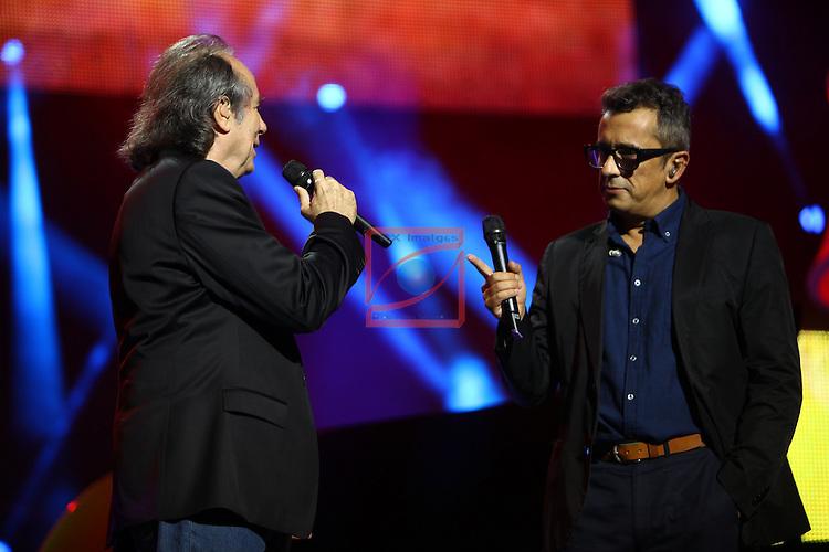 61 Premios Ondas.<br /> Gala ONDAS-Gran Teatre del Liceu.<br /> Joan Manuel Serrat &amp; Andreu Buenafuente.
