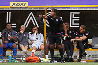 Crystal Palace U23 Coach. Richard Shaw issues some instructions from the touchline as Manager, Frank De Boer watches on during Maidstone United  vs Crystal Palace, Friendly Match Football at the Gallagher Stadium on 15th July 2017