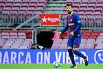 League Santander 2017/2018 - Game: 7.<br /> FC Barcelona vs UD Las Palmas: 3-0.<br /> Gerard Pique.