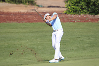 Thomas Detry (BEL) on the 10th fairway during the final round of the DP World Tour Championship, Jumeirah Golf Estates, Dubai, United Arab Emirates. 18/11/2018<br /> Picture: Golffile | Fran Caffrey<br /> <br /> <br /> All photo usage must carry mandatory copyright credit (© Golffile | Fran Caffrey)