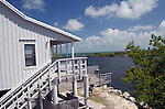 side view of a guest cabin at Bahia Honda Staet Park, Florida Keys