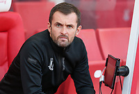 Stoke City manager Nathan Jones <br /> <br /> Photographer Stephen White/CameraSport<br /> <br /> The Premier League - Stoke City v Leeds United - Saturday August 24th 2019 - bet365 Stadium - Stoke-on-Trent<br /> <br /> World Copyright © 2019 CameraSport. All rights reserved. 43 Linden Ave. Countesthorpe. Leicester. England. LE8 5PG - Tel: +44 (0) 116 277 4147 - admin@camerasport.com - www.camerasport.com