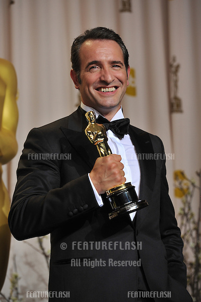 Jean Dujardin at the 82nd Academy Awards at the Hollywood & Highland Theatre, Hollywood..February 26, 2012  Los Angeles, CA.Picture: Paul Smith / Featureflash.