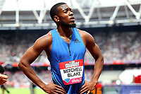 Nethaneel Mitchell-Blake of Great Britain after competing  in the menís 200 metres during the Muller Anniversary Games at The London Stadium on 9th July 2017