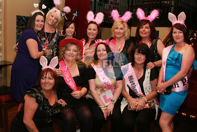 Marian Connolly's Hen Party in the Star and Crescent...(Photo credit should read Jenny Matthews www.newsfile.ie)....This Picture has been sent you under the conditions enclosed by:.Newsfile Ltd..The Studio,.Millmount Abbey,.Drogheda,.Co Meath..Ireland..Tel: +353(0)41-9871240.Fax: +353(0)41-9871260.GSM: +353(0)86-2500958.email: pictures@newsfile.ie.www.newsfile.ie.